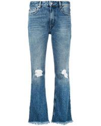 MSGM - Jeans im Distressed-Look - Lyst