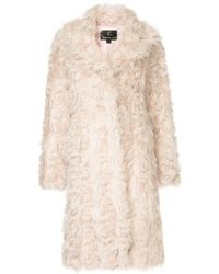 Unreal Fur - Esperanza Coat - Lyst