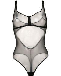 Myla - Body à design transparent - Lyst