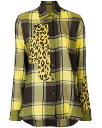 Ermanno Scervino - Spotted Panel Shirt - Lyst