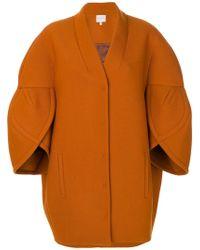 Delpozo - Three-quarter Sleeve Structured Jacket - Lyst