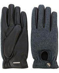 Lardini - Contrast Gloves - Lyst