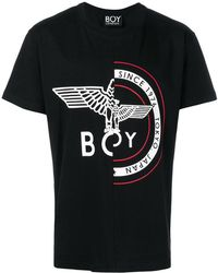 BOY London - Logo Patch T-shirt - Lyst