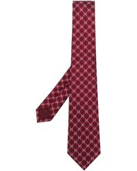 Gucci Ghost Tie - Red