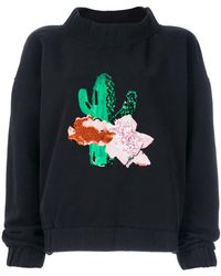 Each x Other - Floral Embroidered Sweatshirt - Lyst