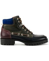 DSquared² - Leather Hiking Boots - Lyst