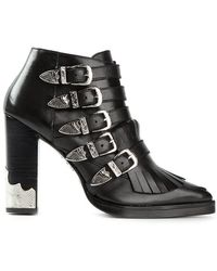 Toga Pulla | Fringed Ankle Boots | Lyst