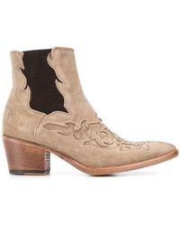 Alberto Fasciani - Western Ankle Boots - Lyst