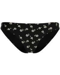 The Upside | Floral Print Bikini Bottom | Lyst