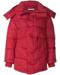Balenciaga - Padded Swing Coat - Lyst