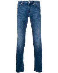 Pt05 - Whiskered Slim-fit Jeans - Lyst