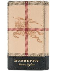 Burberry - Heymarket Print Keyholder - Lyst