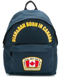 DSquared² - 'Dean & Dan Born in Canada' Ruckasck - Lyst