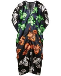 Zero + Maria Cornejo - Printed V-neck Dress - Lyst