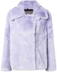 Each x Other - Cropped Peacoat - Lyst