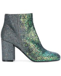 Pollini - Chunky Heel Ankle Boot - Lyst