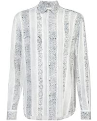 Saint Laurent - Arabesque Shirt - Lyst