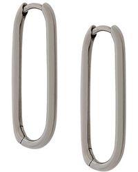 Astley Clarke - Piet Oval Hoop Earrings - Lyst