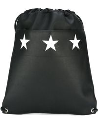 Givenchy - Star Print Drawstring Backpack - Lyst