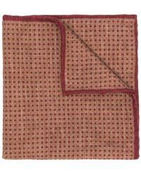 Eleventy - Polka Dotted Handkerchief - Lyst