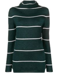 cc540419a4617 Les Copains - Striped Sweater - Lyst
