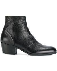 Henderson - Pebbled Ankle Boots - Lyst