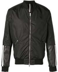 Low Brand - Panelled Bomber Jacket - Lyst