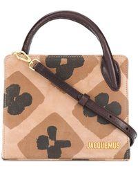 Jacquemus - Mini Square Shoulder Bag - Lyst