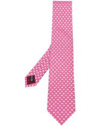 Ferragamo - Sheep Print Tie - Lyst