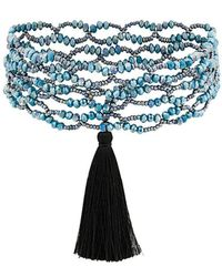 Night Market - Tassel Detail Necklace - Lyst