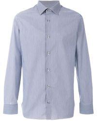 Z Zegna - Button Down Shirt - Lyst