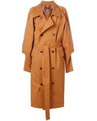 Y. Project - Oversized Trench Coat - Lyst