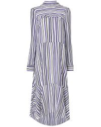 Dorothee Schumacher | Long Sleeved Striped Dress | Lyst