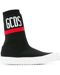 Gcds - Logo Sneakers - Lyst