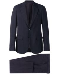 Versace - Pinstriped Two-piece Suit - Lyst