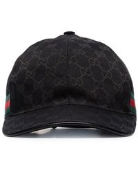 45f895f3157e56 Gucci Canvas Baseball Hat in Natural for Men - Save 55% - Lyst