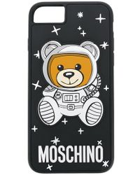 Moschino - Black Teddy Printed Iphone 6/6s/7/8 Plus Case - Lyst