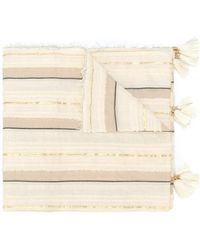 Twin Set - Striped Scarf - Lyst