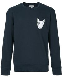 Calvin Klein - Embroidered Dog Sweatshirt - Lyst