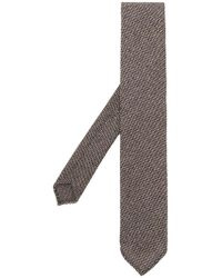 Lardini - Woven Tie - Lyst