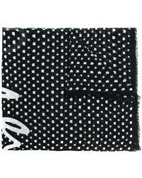 Karl Lagerfeld - Star Print Scarf - Lyst