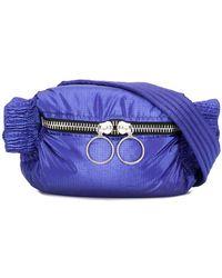 Porter Metallic Two Pocket Belt Bag in Metallic - Lyst 148d96cb80fa2
