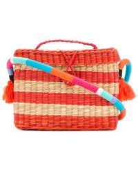 Nannacay | Small Stripe Panel Shoulder Bag | Lyst