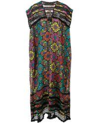 Carolina K - Floral Print Maxi Dress - Lyst