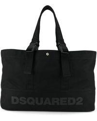 DSquared² - Borsa tote con stampa - Lyst