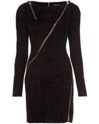 Jitrois - Longsleeved Allover Zipper Dress - Lyst