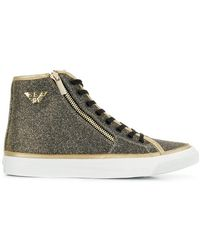 Emporio Armani - Logo High-top Sneakers - Lyst