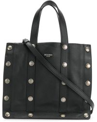 Moschino - Studded Tote Bag - Lyst