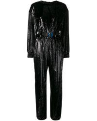 Frankie Morello - Belted Jumpsuit - Lyst