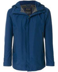 Woolrich - Zipped Hooded Jacket - Lyst